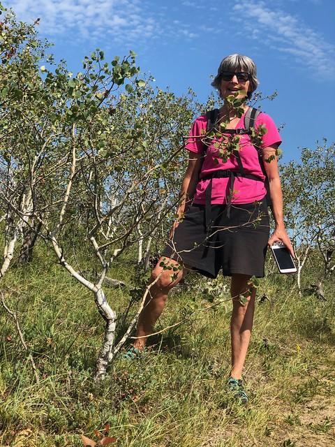 Douglas Provincial Park -Little tree with Linda