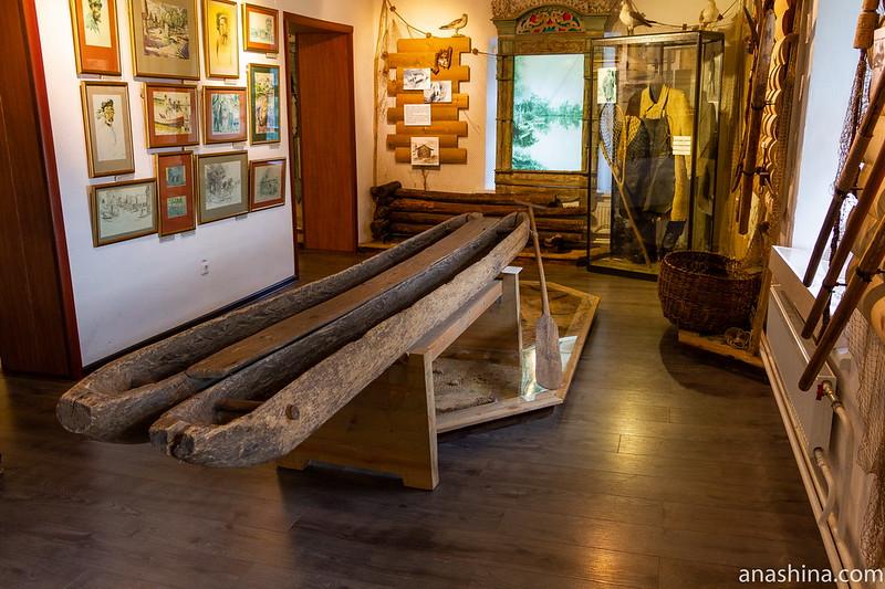 Экспозиция «Клевое место», посвященная Рыбной слободе, Переславль-Залесский