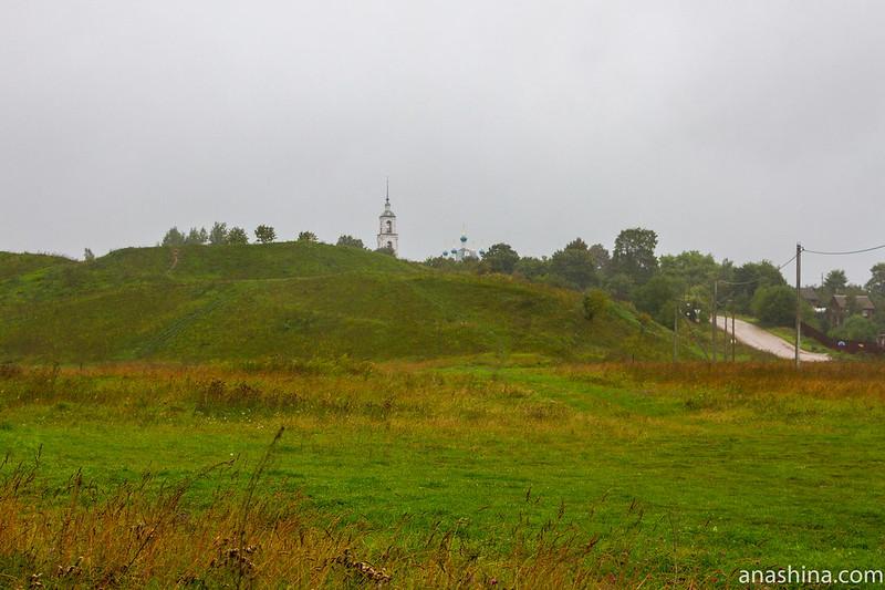 Городище Клещин и церковь Рождества Пресвятой Богородицы в Городище