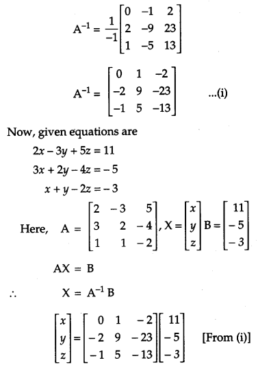 CBSE Previous Year Question Papers Class 12 Maths 2019 Delhi 90
