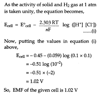 CBSE Previous Year Question Papers Class 12 Chemistry 2018 Q25.2
