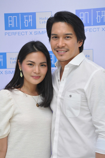 Actor Luis Alandy and wife Joselle Alandy