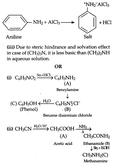 CBSE Previous Year Question Papers Class 12 Chemistry 2014 Outside Delhi Set I Q25.1