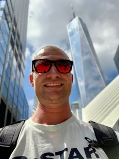 Steven for a short stop in NYC (aug 2019)