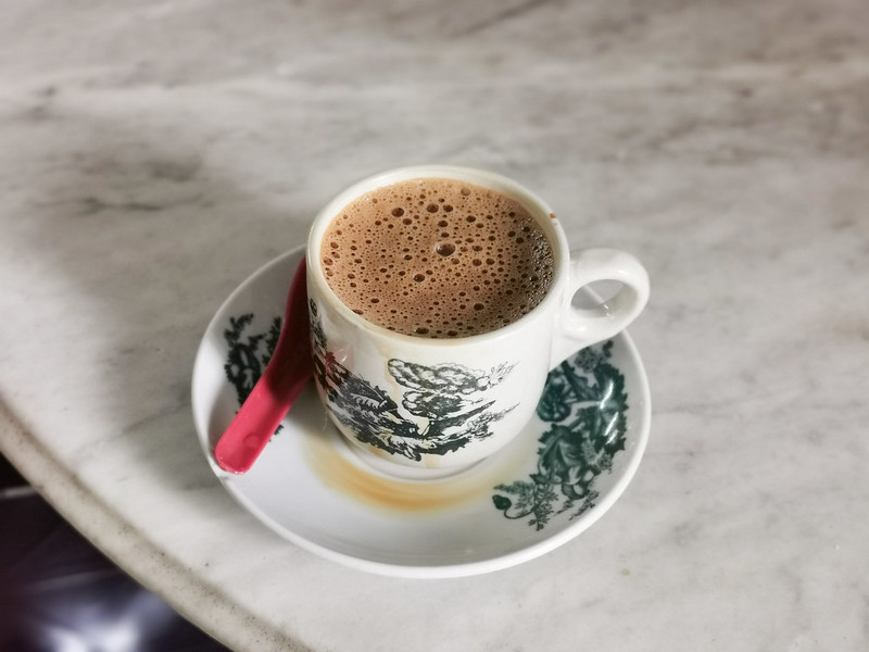 white coffee from sin yoon loong