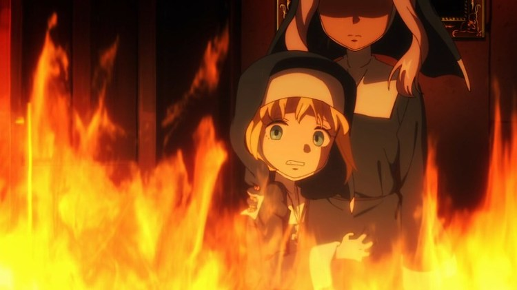 Fire Force Enen No Shouboutai The Spark Of Promise Episode 6 Hibana and Iris Kids