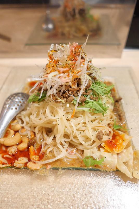 冷し汁なし担々麺 Chilled dandan noodle 01