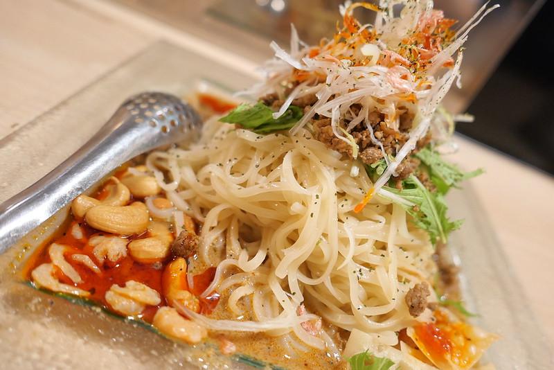 冷し汁なし担々麺 Chilled dandan noodle 02