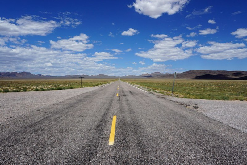 Lil'A'Lien in Rachel - Nevada State Route 375, aka the Extraterrestrial Highway, July 2019