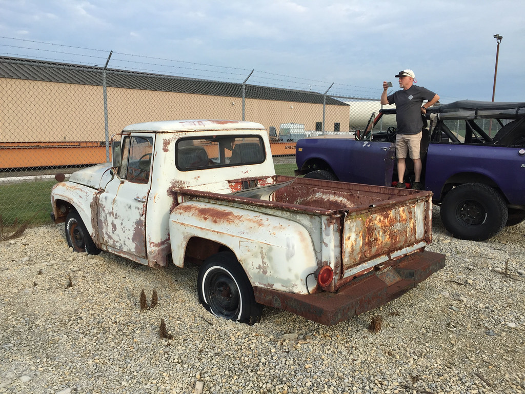 Sunken Pickup