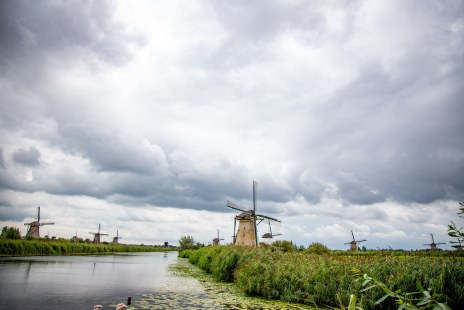 Windmolens / windmills Holland - Kinderdijk (aug 2019)