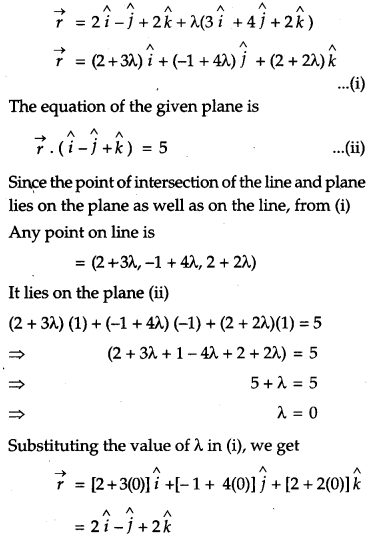 CBSE Previous Year Question Papers Class 12 Maths 2011 Outside Delhi 76
