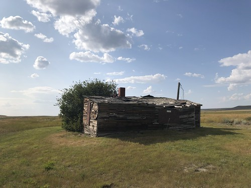 Grasslands National Park West Block - Walt Larson Homestead 2