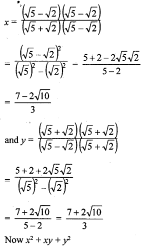 ML Aggarwal Class 9 Solutions for ICSE Maths Chapter 1 Rational and Irrational Numbers Chapter Test 18