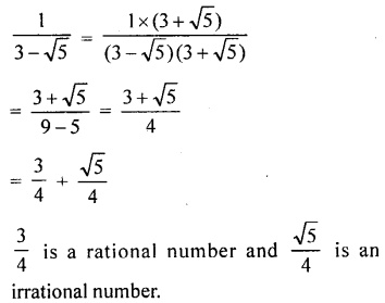 ML Aggarwal Class 9 Solutions for ICSE Maths Chapter 1 Rational and Irrational Numbers Chapter Test 8
