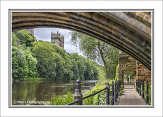 River Wear. Durham City.