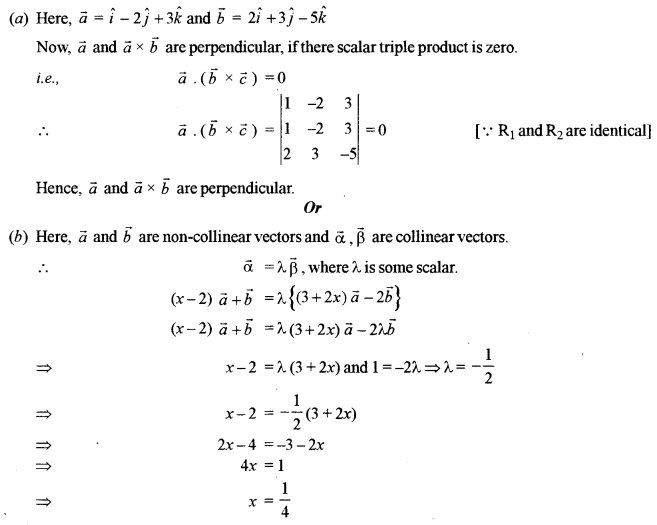 ISC Class 12 Maths Previous Year Question Papers Solved 2019 Q16.1