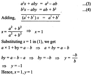 ML Aggarwal Class 9 Solutions for ICSE Maths Chapter 5 Simultaneous Linear Equations Chapter Test 11