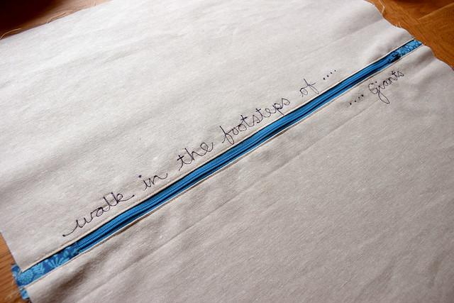 Giants Causeway Hexie Pillow Gift