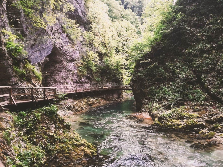 Gargantas de Vintgar | Eslovenia en Coche | Ruta y preparativos para viajar y visitar Eslovenia | ClickTrip.ES