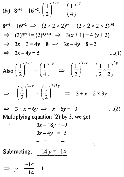 ML Aggarwal Class 9 Solutions for ICSE Maths Chapter 8 Indices Chapter Test 19