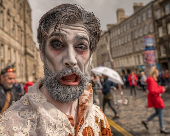 Fun shot at Edinburgh Fringe