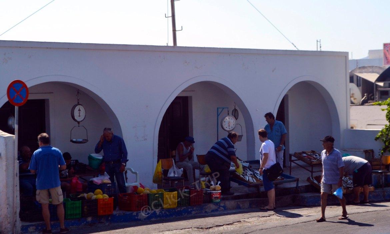 Mercado tradicional | Santorini | Islas Griegas | Grecia | ClickTrip