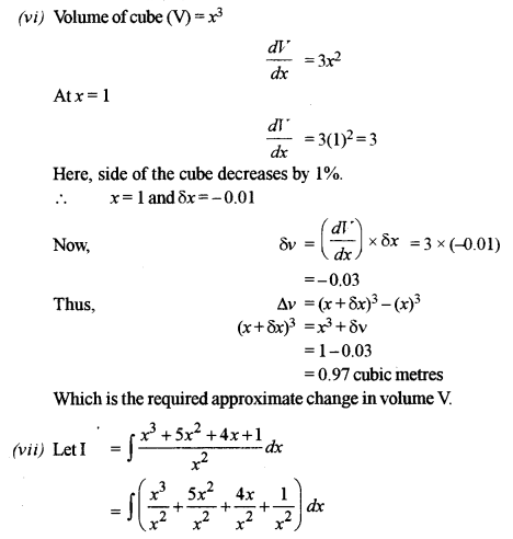 ISC Class 12 Maths Previous Year Question Papers Solved 2018 Q1.6