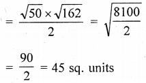 ML Aggarwal Class 9 Solutions for ICSE Maths Chapter 19 Coordinate Geometry Chapter Test 35
