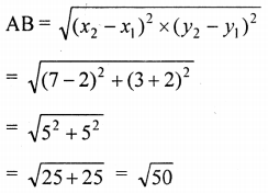 ML Aggarwal Class 9 Solutions for ICSE Maths Chapter 19 Coordinate Geometry Chapter Test 36