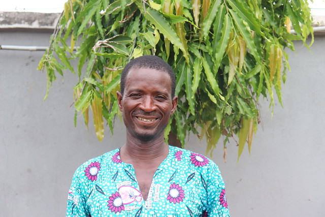 Abdulai Idrissu, one of the farmers working with Africa RISING in Tibali Community in Northern Region, Ghana. Photo credit: Wilhelmina Ofori-Duah-Duah/IITA.