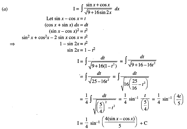 ISC Class 12 Maths Previous Year Question Papers Solved 2016 Q6