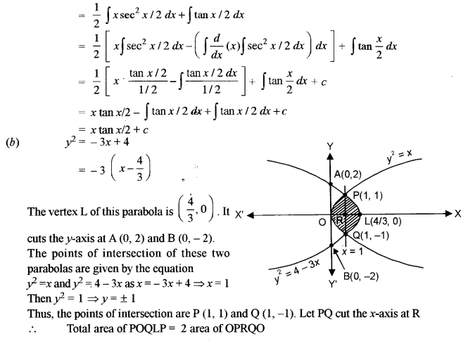 ISC Class 12 Maths Previous Year Question Papers Solved 2014 Q6.1