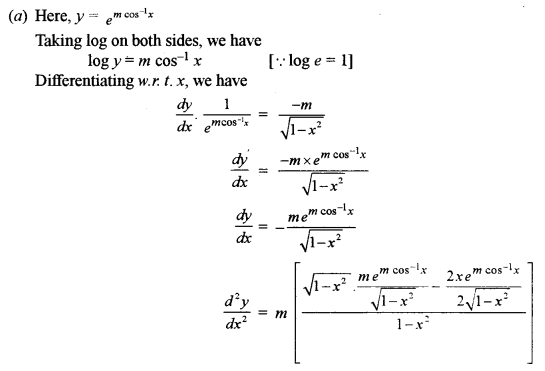 ISC Class 12 Maths Previous Year Question Papers Solved 2015 Q5.1