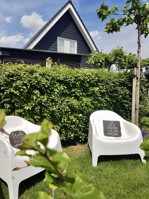 Skarpö tuinstoel wit IKEA