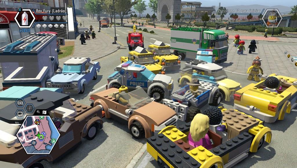 LEGO City Undercover - Stau