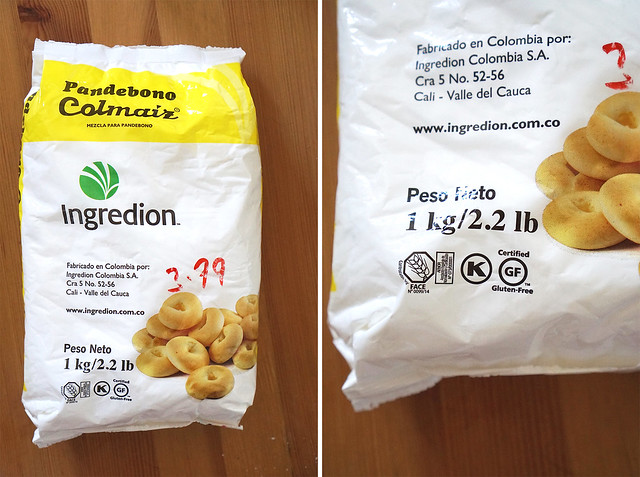 Ingredion Colmaiz pandebono flour blend - Certified gluten free