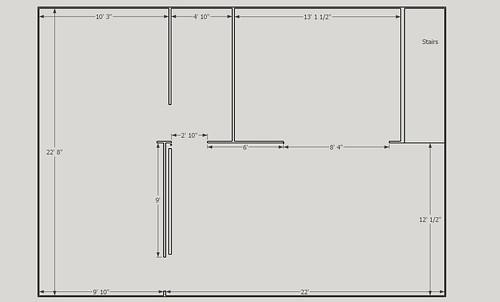 Ranch basement New Floor Plan