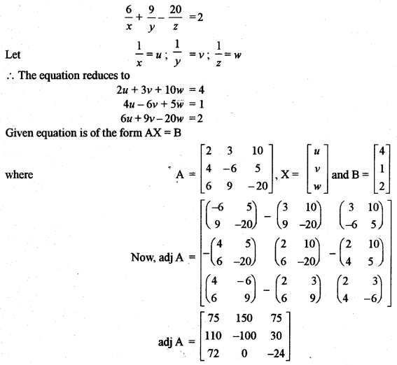 ISC Class 12 Maths Previous Year Question Papers Solved 2011 Q2.3