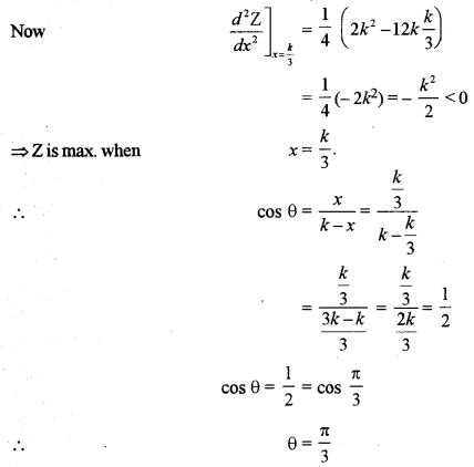 ISC Class 12 Maths Previous Year Question Papers Solved 2011 Q6.1