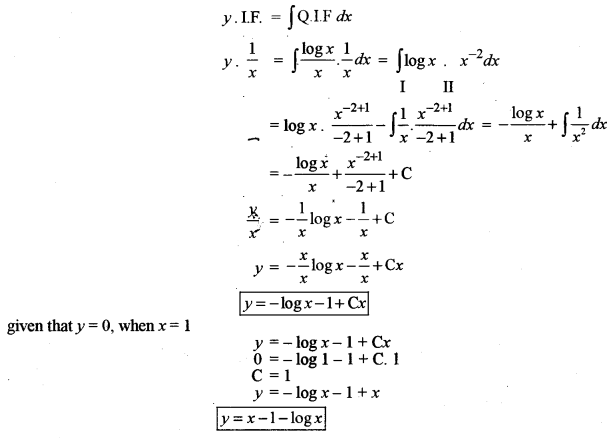 ISC Class 12 Maths Previous Year Question Papers Solved 2010 Q9.1