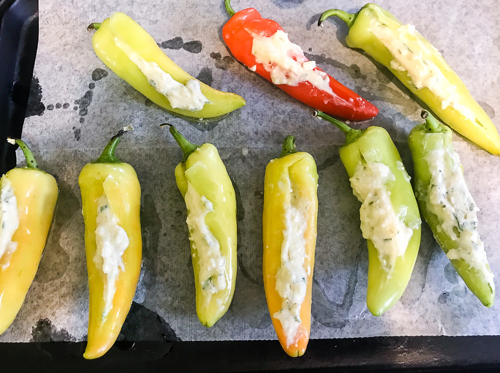 Wax Peppers LR making