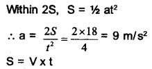 HSSlive Plus One Physics Chapter Wise Questions and Answers Chapter 3 Motion in a Straight Line 23