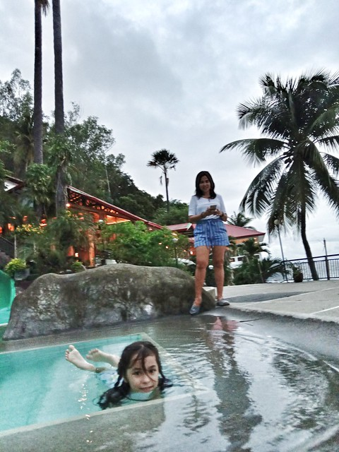 At Eagle Point resort