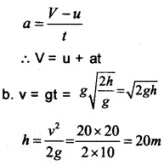 HSSlive Plus One Physics Chapter Wise Questions and Answers Chapter 3 Motion in a Straight Line 24