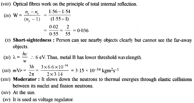ISC Class 12 Physics Previous Year Question Papers Solved 2016 97
