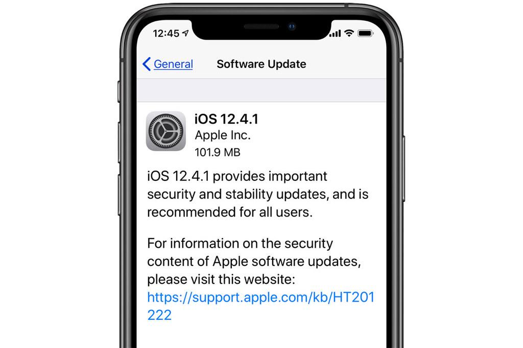 蘋果修補iOS 12.4可被越獄的重大安全漏洞