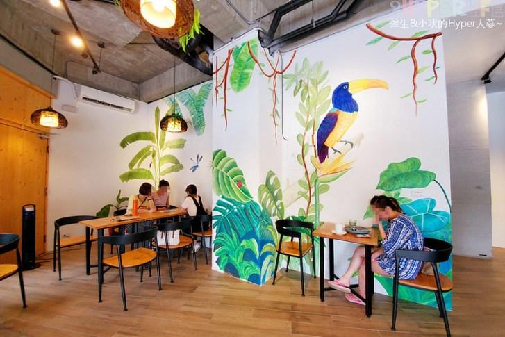 48634130553 bb03701022 c - GO HOME食研室│店內熱帶雨林彩繪牆是網美必拍打卡點~食材吃的出用料新鮮!