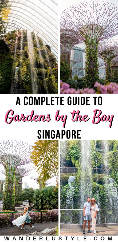 A Complete Guide to Gardens By The Bay - Gardens By The Bay Singapore, Singapore Travel, Gardens By The Bay Tips, Gardens By The Bay, Singapore Travel Tips, Things to do in Singapore, Singapore Guide, Gardens By The Bay Guide, THINGS TO DO AT GARDENS BY THE BAY, CLOUD FOREST, FLOWER DOME, SUPERTREE GROVE & OCBC SKYWAY, GARDEN RHAPSODY - GARDENS BY THE BAY LIGHT SHOW, FLORAL FANTASY, WHERE TO STAY NEAR GARDENS BY THE BAY, Gardens by the Bay tips | Wanderlustyle.com
