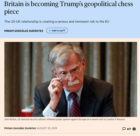 19h25 Britain is becoming Trump's geopolitical chess piece Uti 465